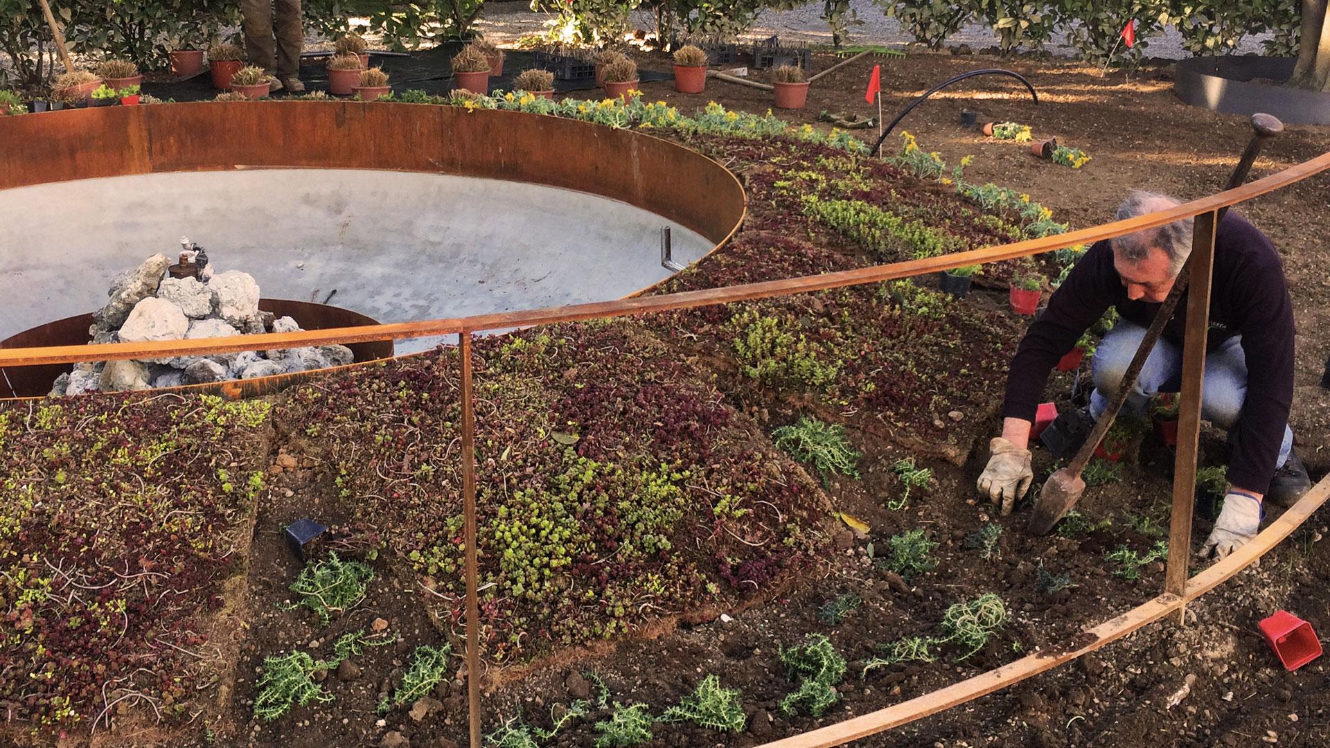 Corten Garden