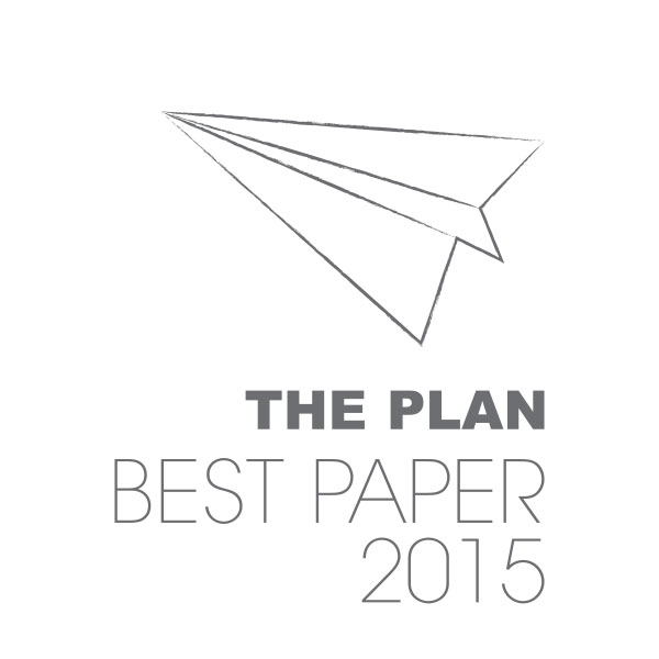 The Plan Best Paper